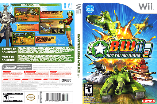 Wii battalion wars 2 ntsc