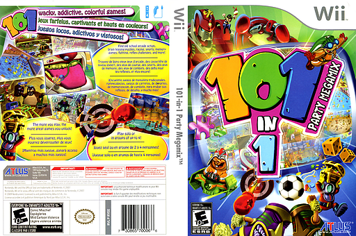 101 Megamix Wii 101-in-1 Party Megamix